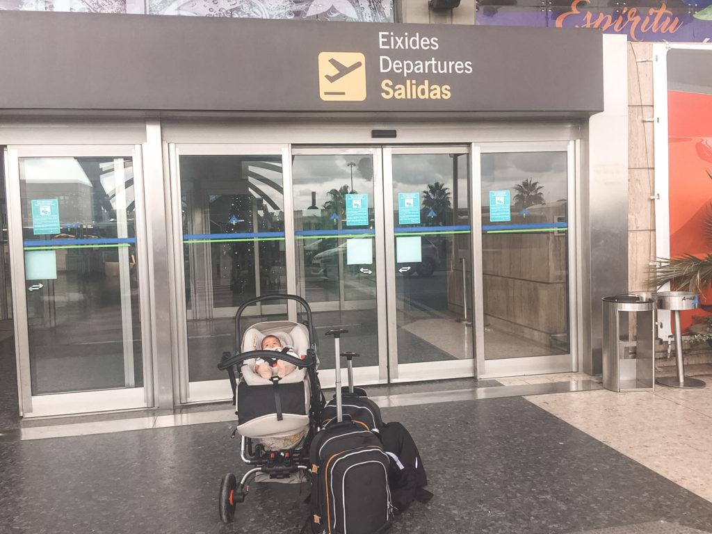 consejos para volar con bebes