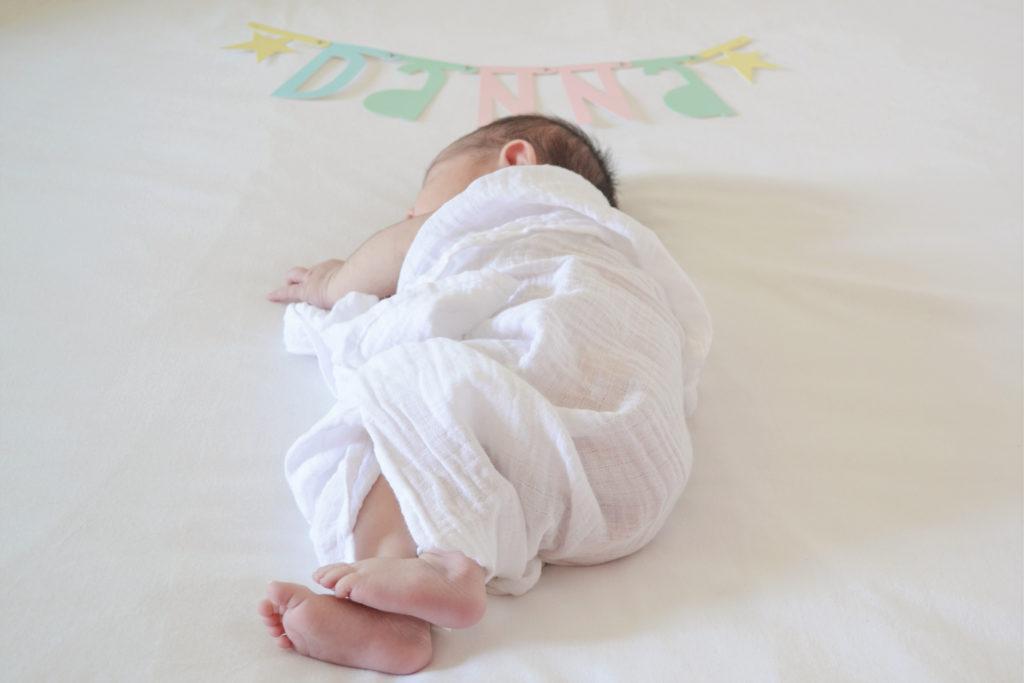 Foto casera recién nacido