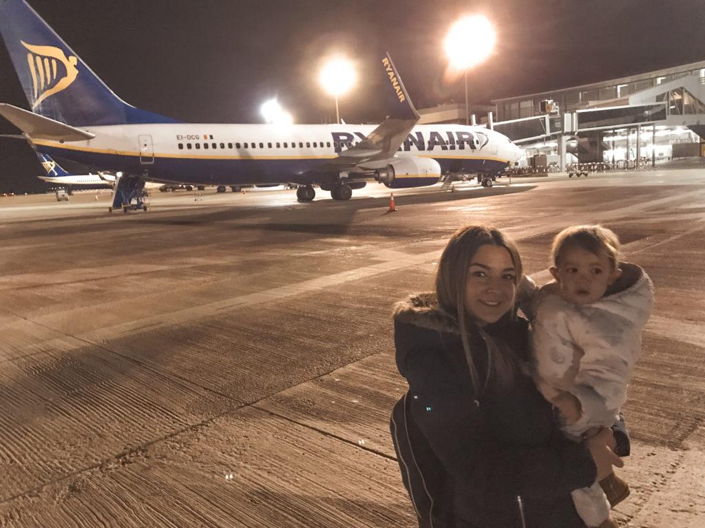 vuelo bebe con Ryanair