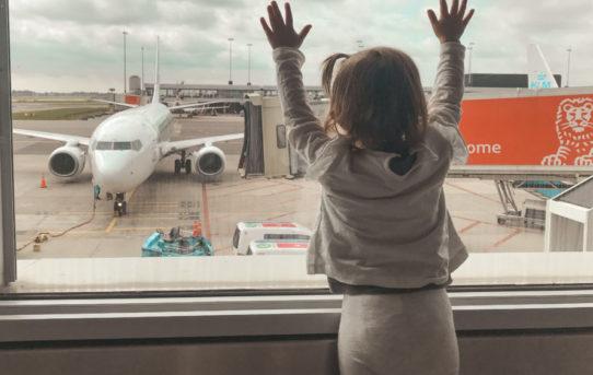 Volar con un bebé