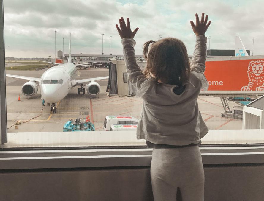 consejos para volar con un bebe
