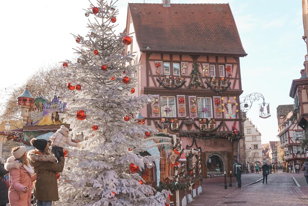Mercado navidad Alsacia