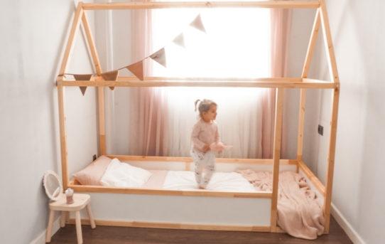Cama casita Montessori - Hack Ikea KURA
