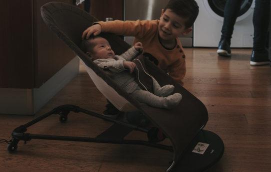 Ruedas Ride&Go Baby para hamacas BabyBjorn: no pierdas de vista a tu bebé